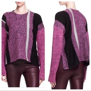 Alexander Wang Boiled Wool Blend Sweater